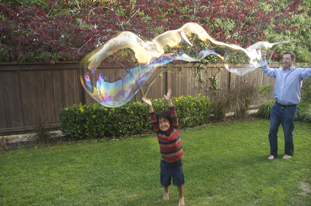 Giant Bubbles Kids Craft