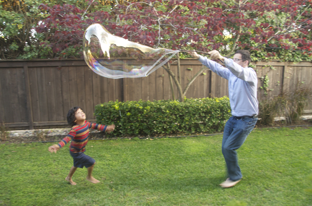 Giant Bubbles Craft
