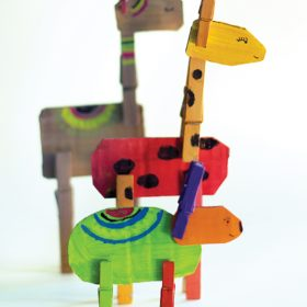 Clothespin Animals