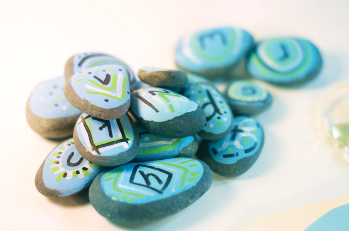 Alphabet Stones | little monster