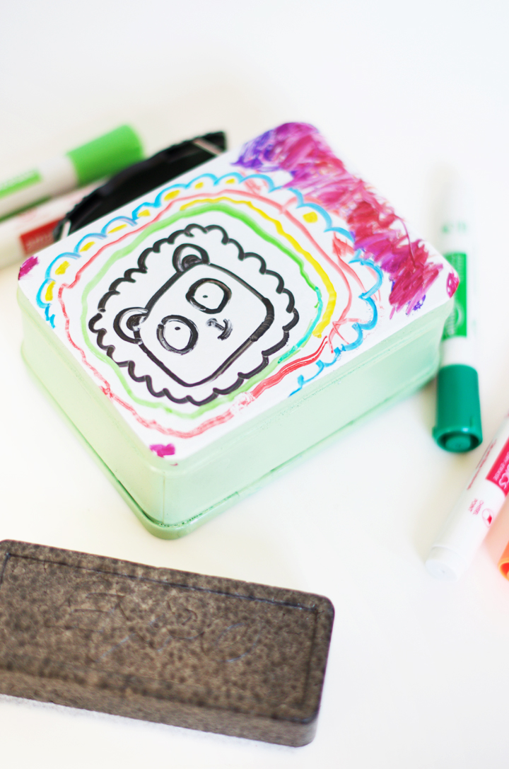 Dry Erase Drawing Box | little monster