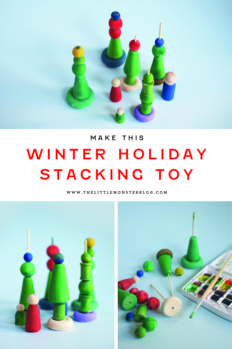 Christmas Trees Stacking Toy