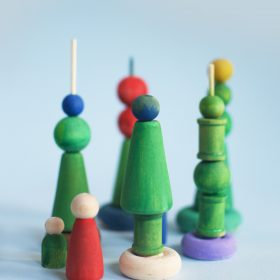 Winter Holiday Stacking Toy