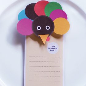 Thanksgiving Gratitude Tag Holder